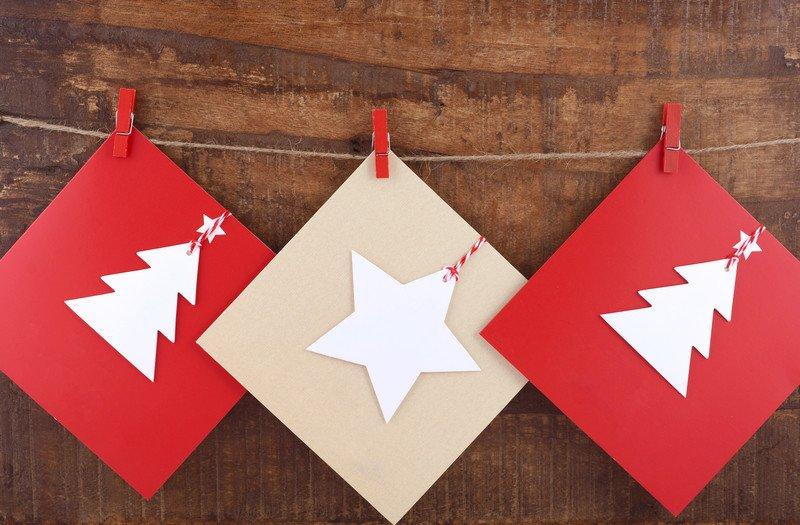 5 pomysłów na oryginalne kartki świąteczne